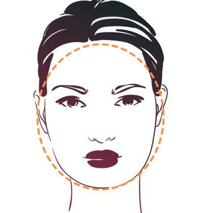 Welke kapsels passen bij een rond gezicht?