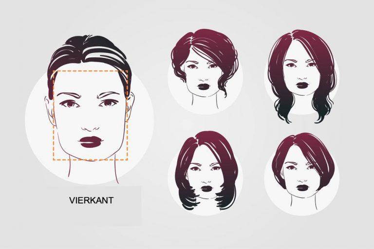 Welke kapsels passen bij een vierkant gezicht