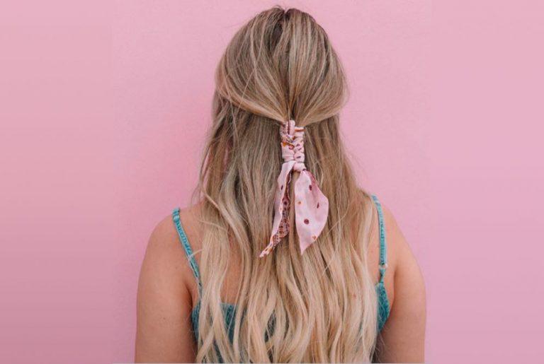 14 Manieren om een sjaaltje in je haar te knopen